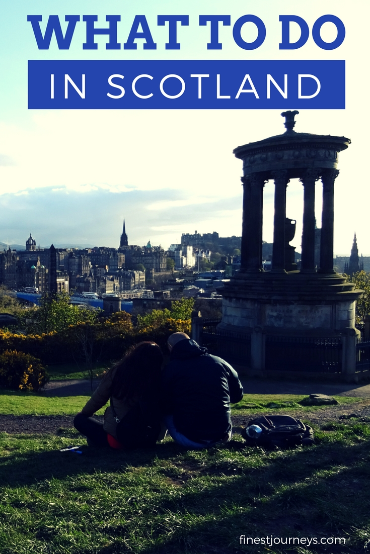 first time in scotland where to go - Blog Pin