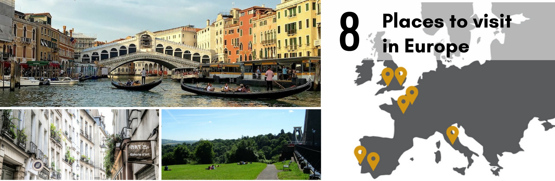 IMG : What to visit in Europe + Free Ebook